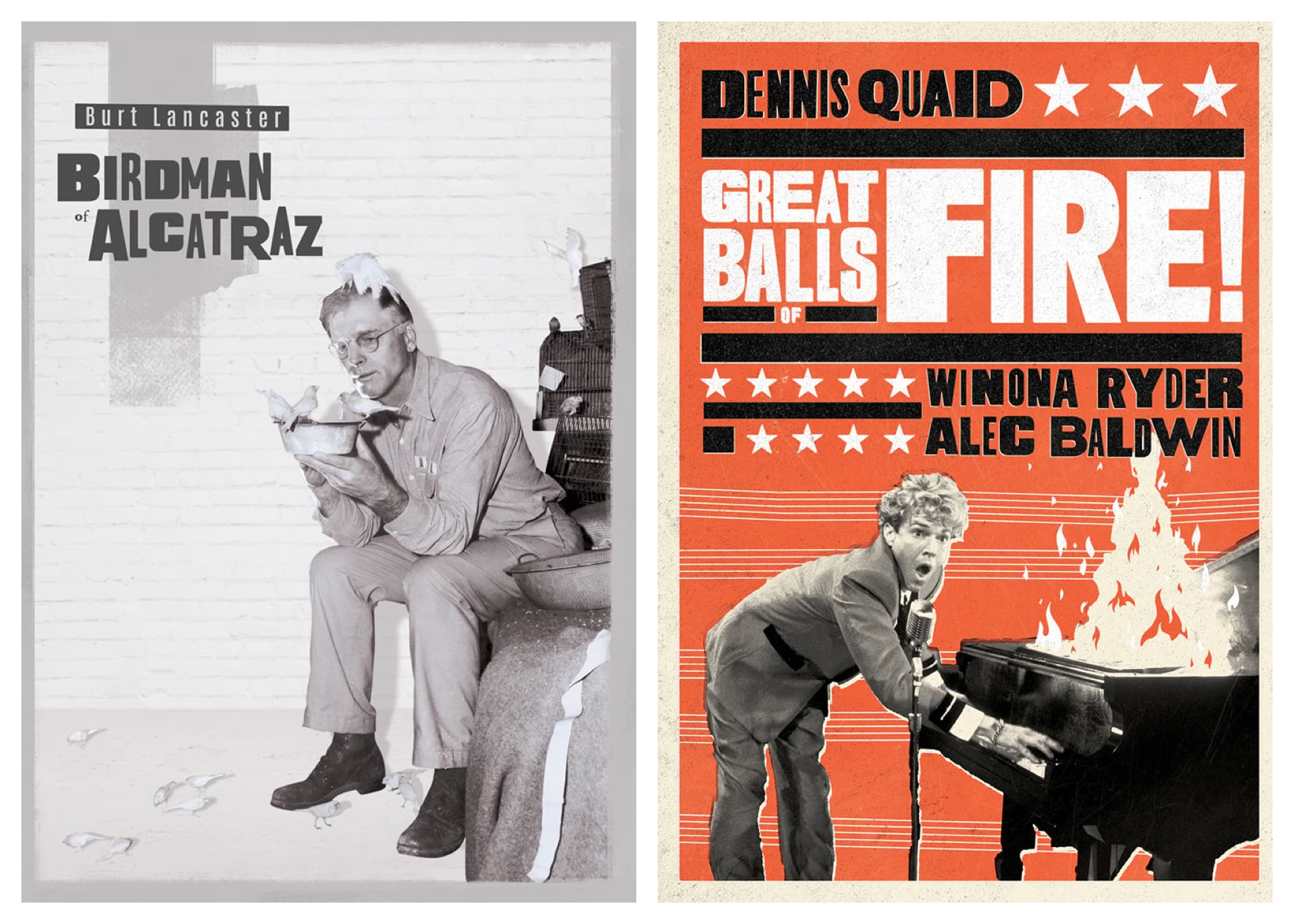 Birdman of Alcatraz & Great Balls of Fire! - Both from Olive Films