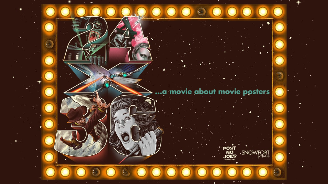 24 x 36 A Movie About Movie Posters