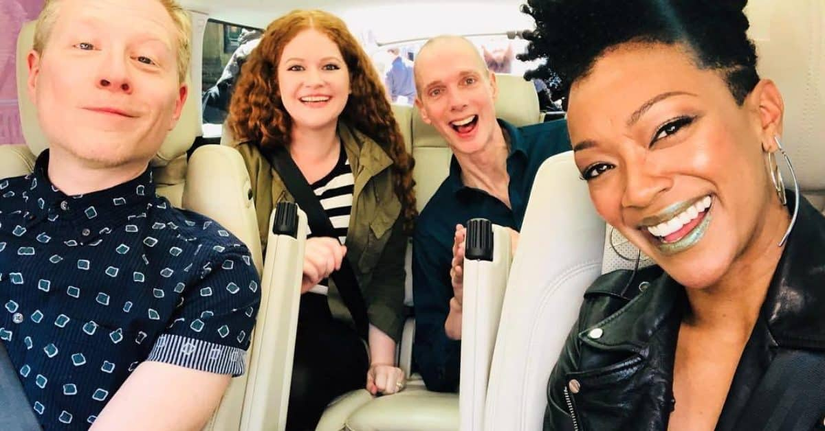 Carpool Karaoke Star Trek Discovery