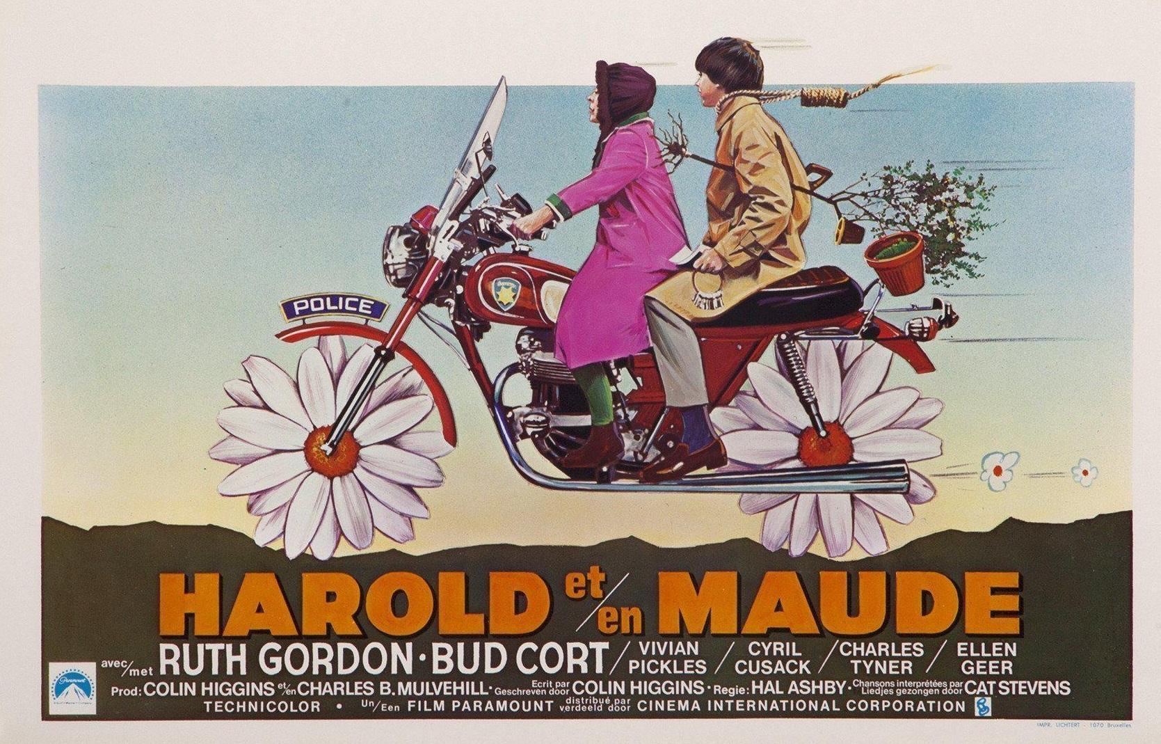 Harold and Maude Original Movie poster