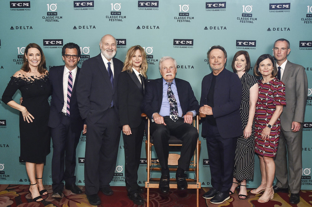 """attends The 30th Anniversary Screening of """"When Harry Met Sally"""" Opening Night at the 2019 10th Annual TCM Classic Film Festival on April 11, 2019 in Hollywood, California."""